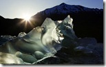 Iceberg recently calved from Mendenhall Glacier, Mendenhall Lake, Tongass National Forest, Alaska, U.S.
