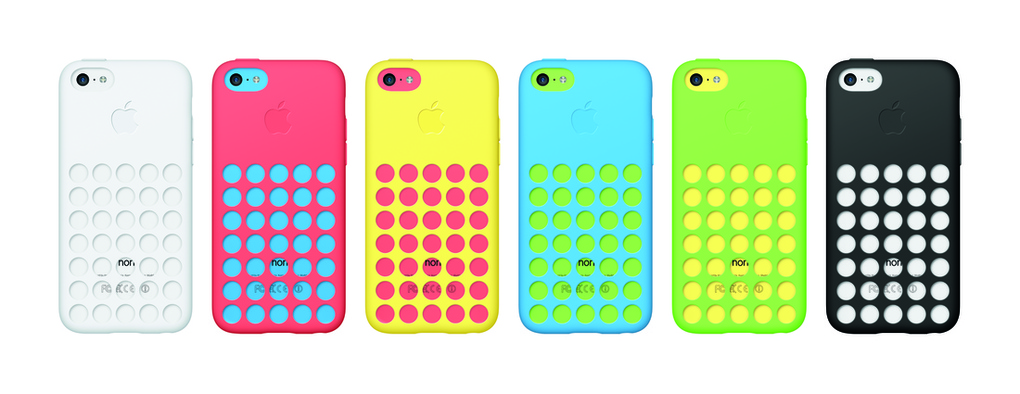 iPhone5c all colors with cases - unpocogeek