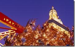 Tokyo Tower and Christmas Tree
