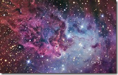 The Fox Fur Nebula, located towards the constellation of Monoceros, is an immense cloud of interstellar gas and cosmic dust