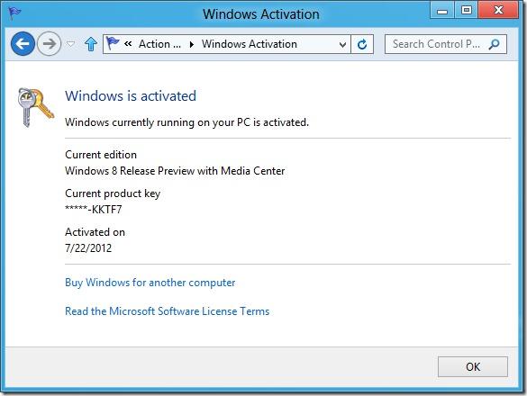 Windows 8 new activation system - unpocogeek.com