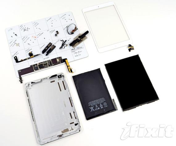 ipad mini ifixit teardown - unpocogeek.com