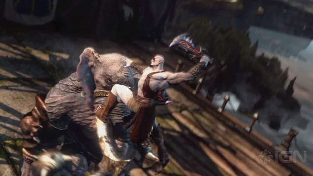 Tráiler del single player de God of War: Ascension
