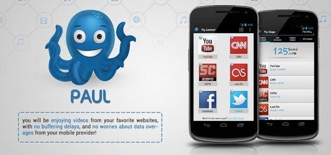 Paul, una aplicación Android que predice los videos que queres ver