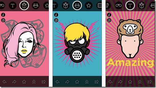 imadeface ios app - unpocogeek.com