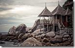 Hut on Ko Tao, Thailand