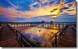 Lake in Khao Sam Roi Yot National Park, Prachuap Khiri Khan Province, Thailand