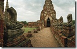 Ruins of Wat Chaiwatthanaram (UNESCO World Heritage Site), Ayutthaya, Thailand