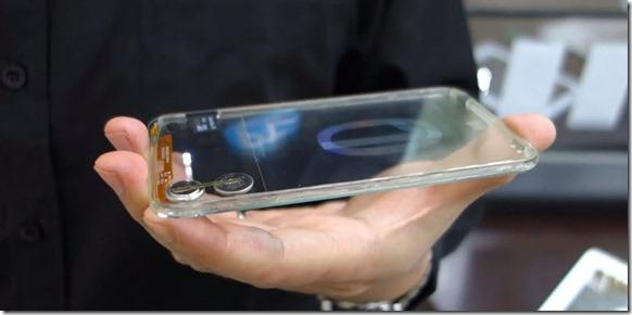transparent phone - unpocogeek.com