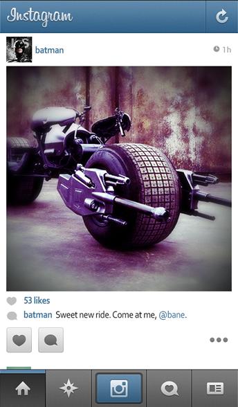 batman instagram - unpocogeek.com