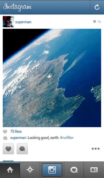 superman instagram - unpocogeek.com