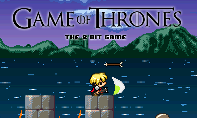 Juego de Game of Thrones en 8 bits