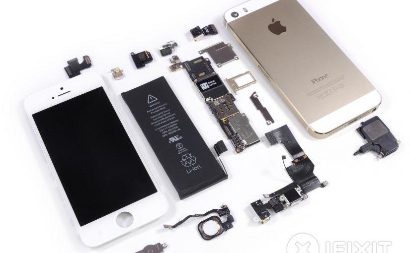 Desarme de un iPhone 5S