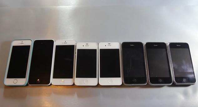 all iphone versions speed test - unpocogeek.com