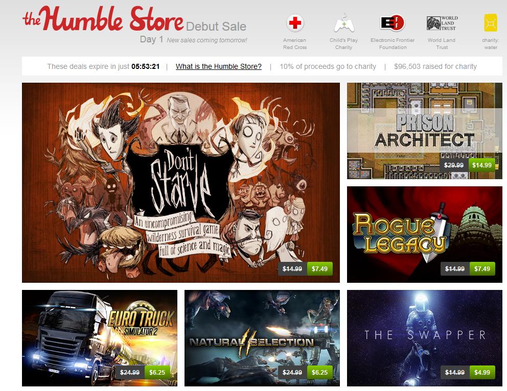 the humble store - unpocogeek.com