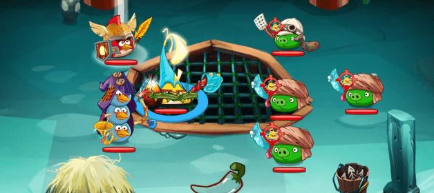Angry Birds Epic con combate por turnos