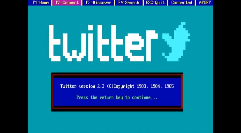 Sitios web y aplicaciones como si hubieran sido inventados en los 80