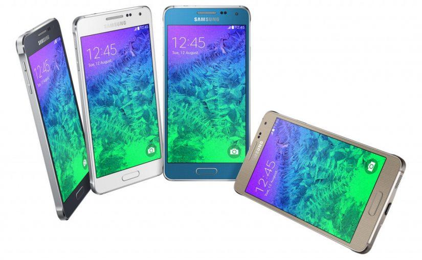 Galaxy Alpha, lo nuevo de Samsung con cuerpo metalico