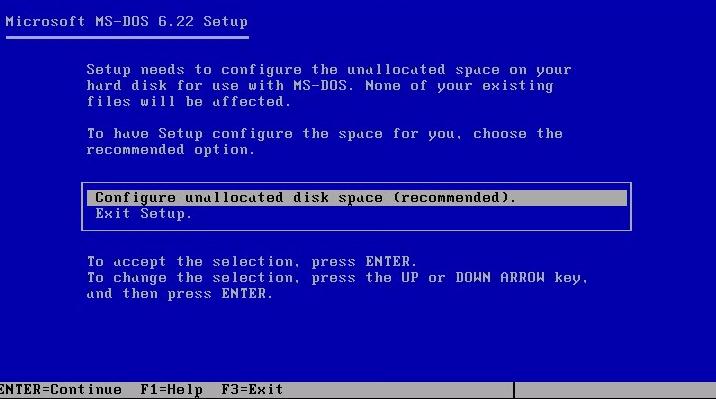 Actualizando desde MS-DOS hasta Windows 8