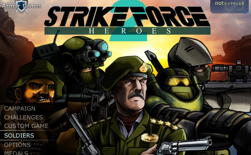 El juego de hoy… Strike Force Heroes 2