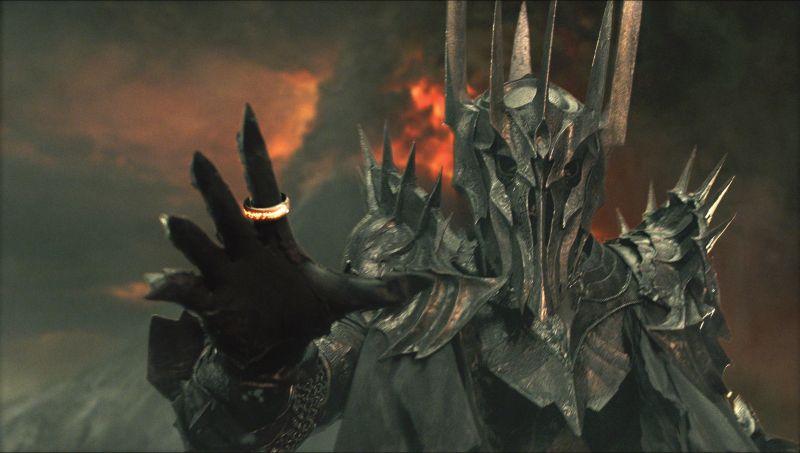 Fabricando el mazo de Sauron