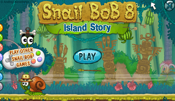 El juego de hoy… Snail Bob 8