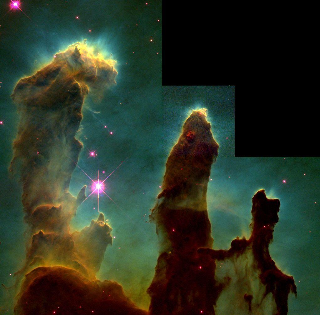 pilares de la creacion - NASA - 1995 - unpocogeek.com