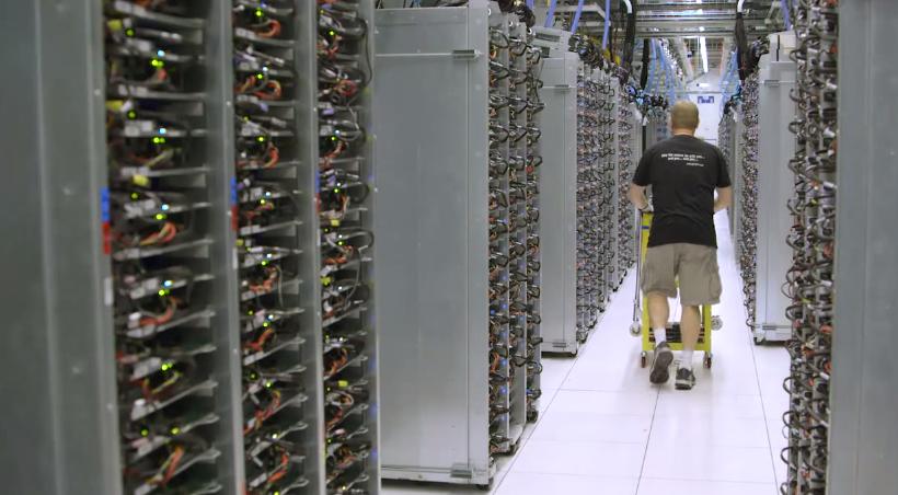 Inside a Google data center_unpocogeek.com