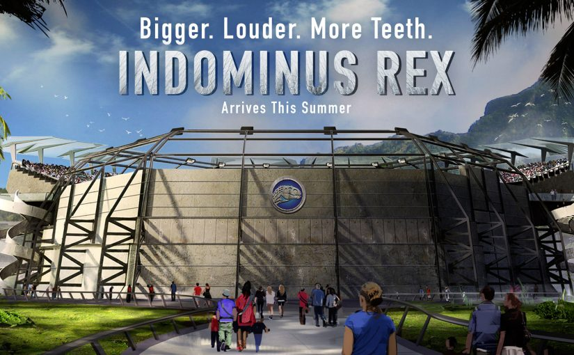 Indominus Rex, el nuevo dinosaurio de Jurassic World