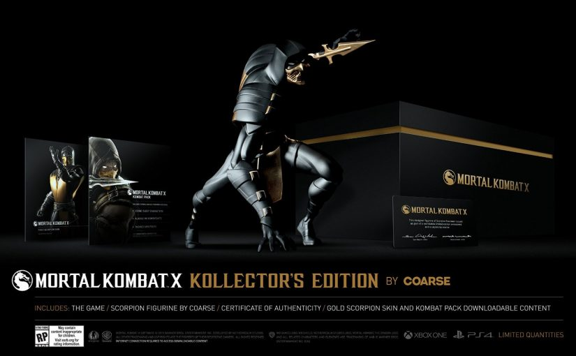 Esta es la edición coleccionista de Mortal Kombat X