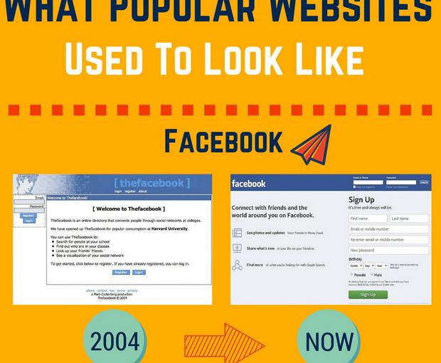 [diseño] Sitios web populares antes y ahora