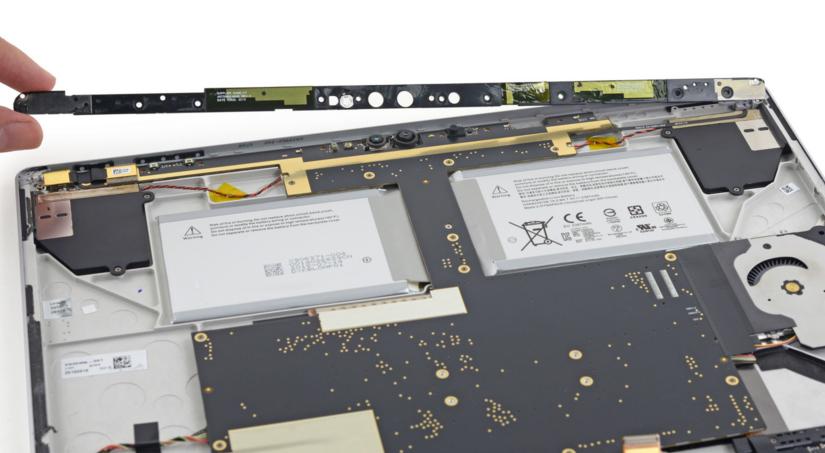 Desarmando una Surface Book