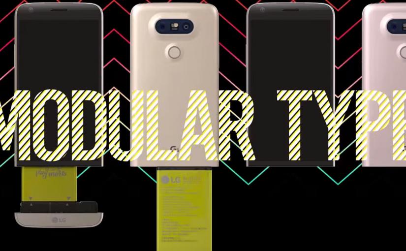 LG G5 nuevo diseño y funciones modulares