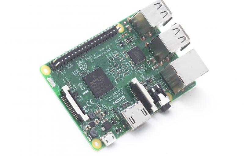 Raspberry Pi 3, bluetooth y WiFi integrados