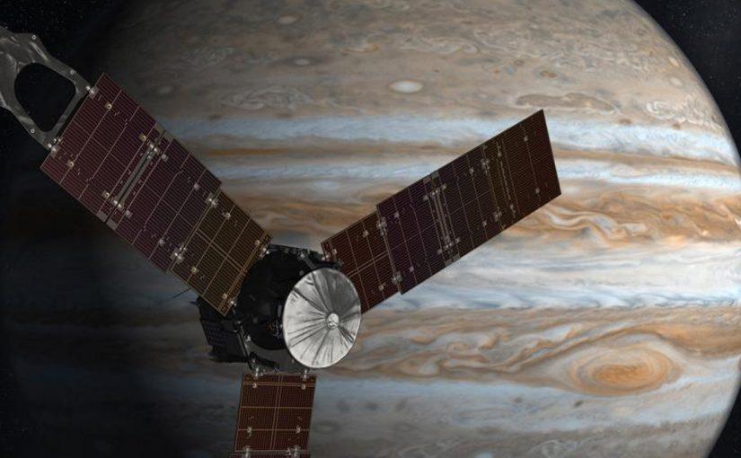 Impresionante nueva fotografía de Júpiter y su gran mancha roja