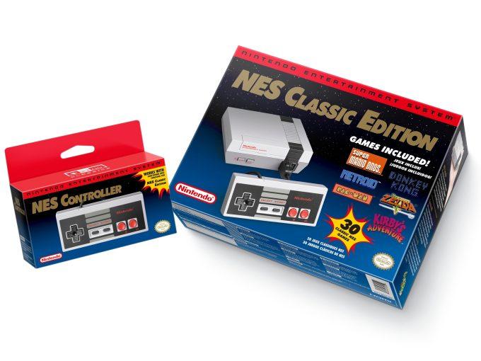 Nintendo lanzará una versión mini de su consola NES