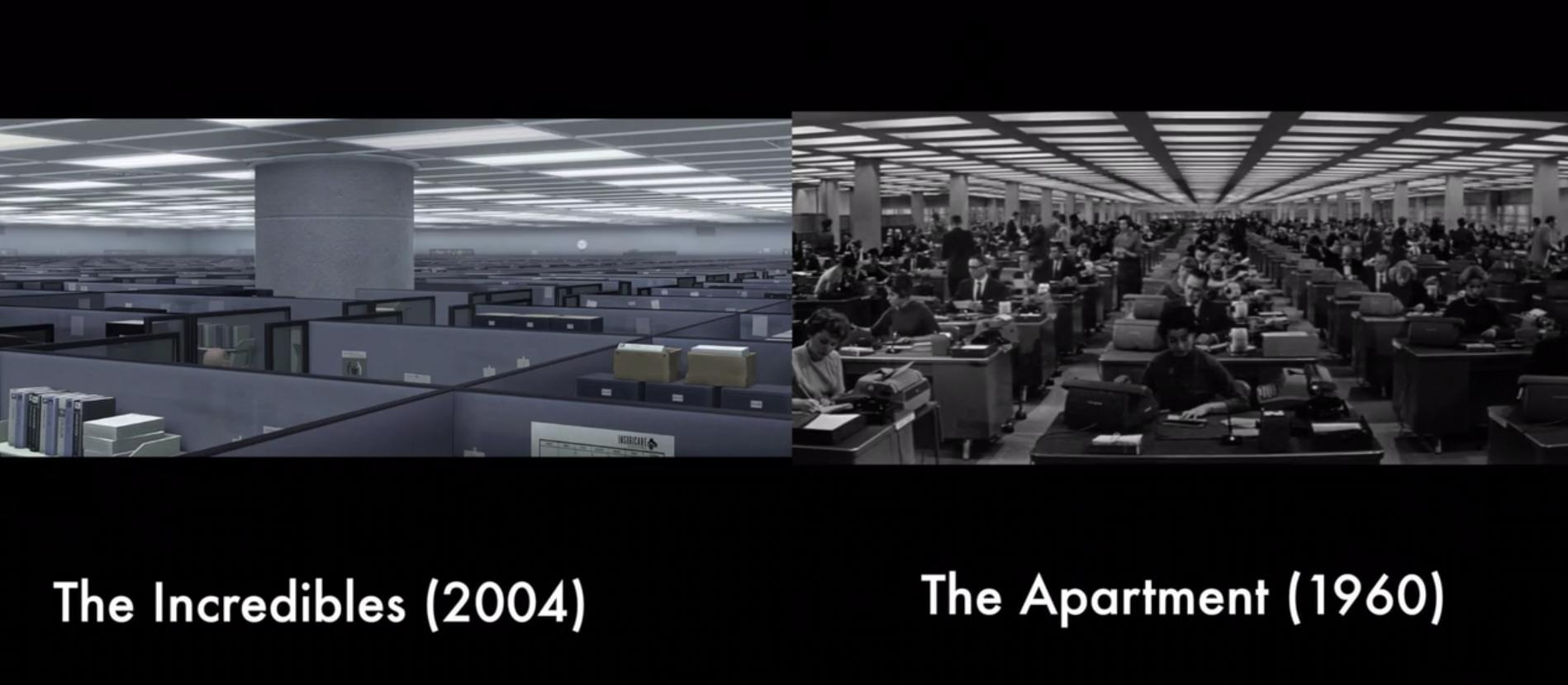 Tributo de Pixar al cine clásico en sus películas animadas