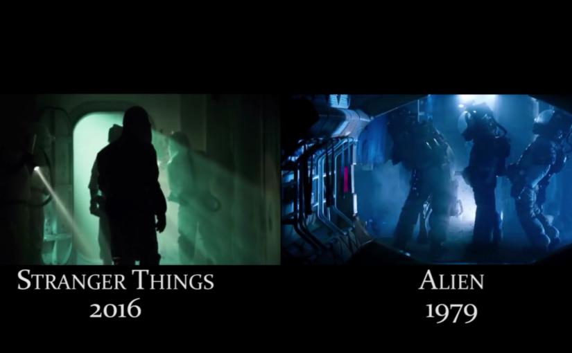 Stranger Things, comparativa lado a lado con las películas a las cuales hace referencias