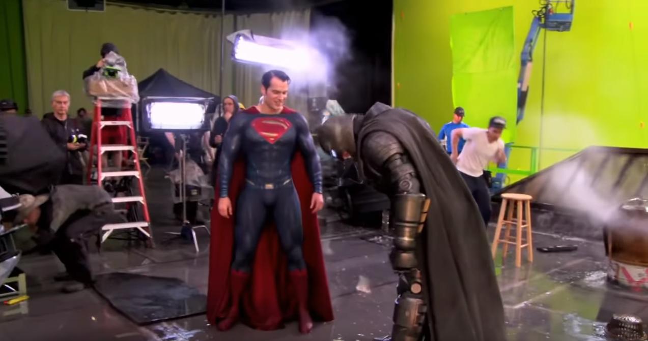 Batman v Superman detrás de escena