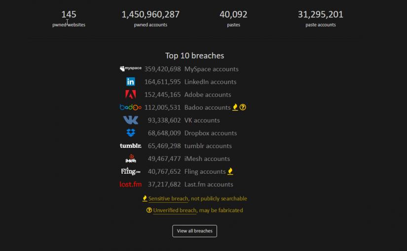 Verifica si tu información participo de algún hackeo
