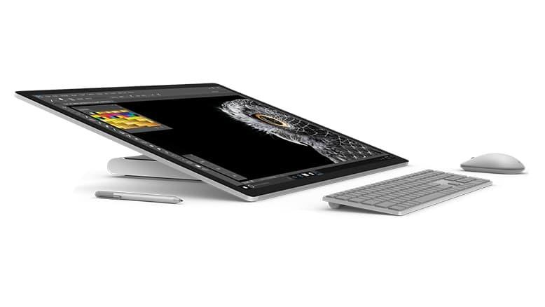 Microsoft Surface Studio press images