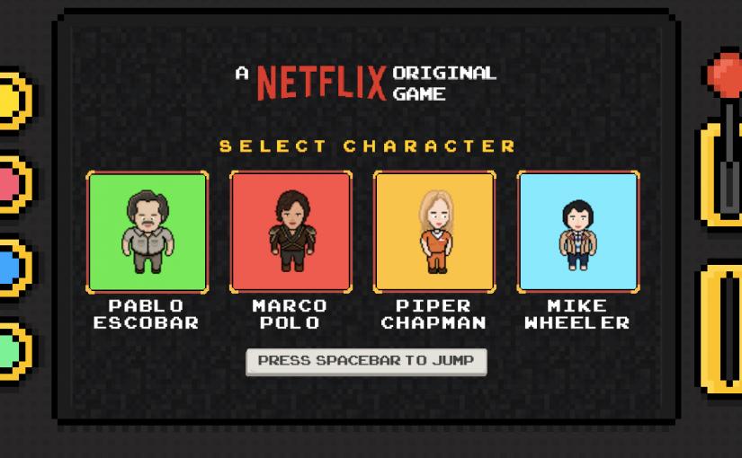 Netflix, juegos en 8 bits