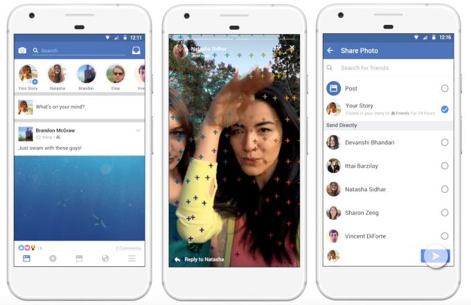 Facebook Stories, como funciona