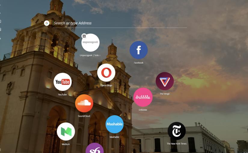 Opera Neon, navegador que imita a nuestro escritorio