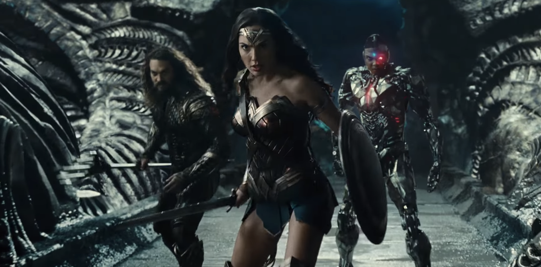 Liga de la justicia, trailer oficial completo