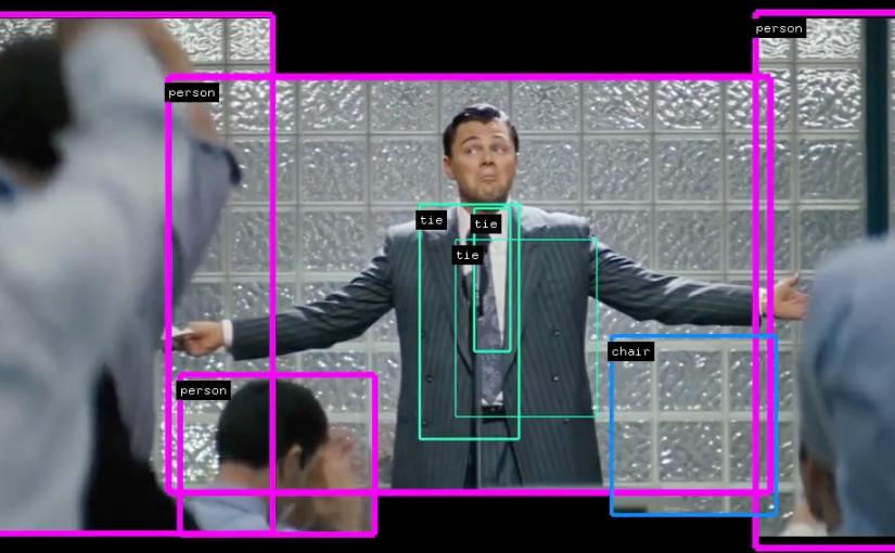 Detección de objetos y personas en video