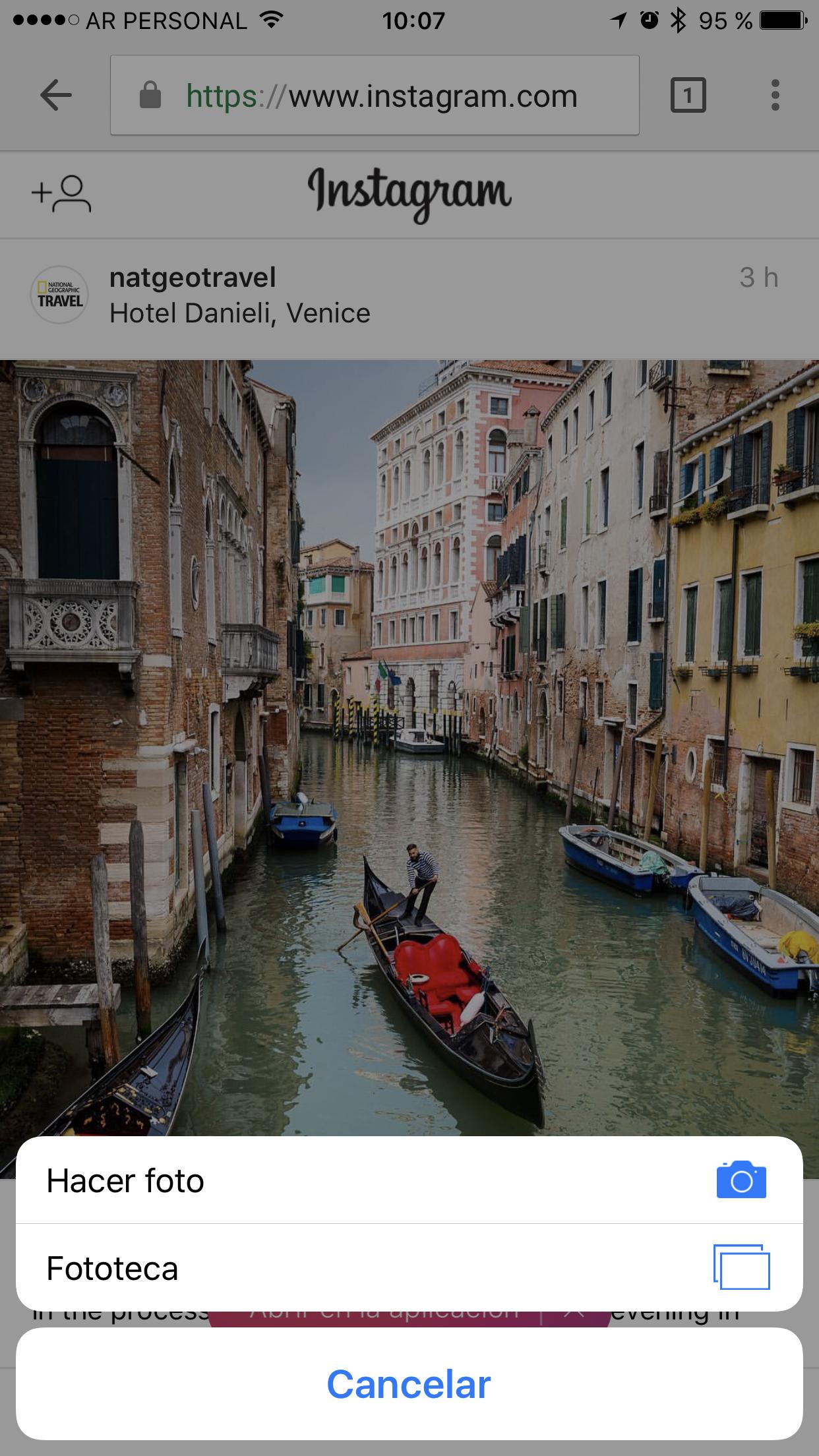 Instagram mejora su versión web móvil