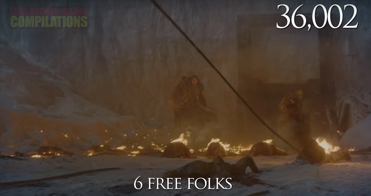 Game of Thrones, death count