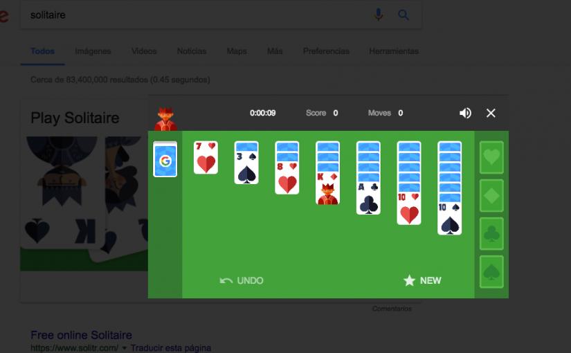 """Cosas para hacer en Google que no son precisamente """"buscar"""""""
