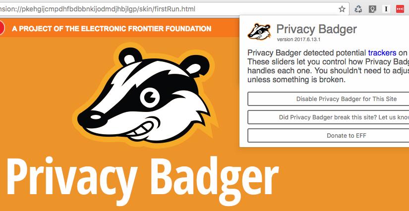 Privacy Badger 2.0, protege tu privacidad en internet